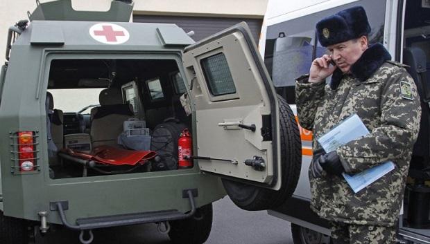 В зоне АТО не хватает транспорта для эвакуации раненых / Фото: УНИАН