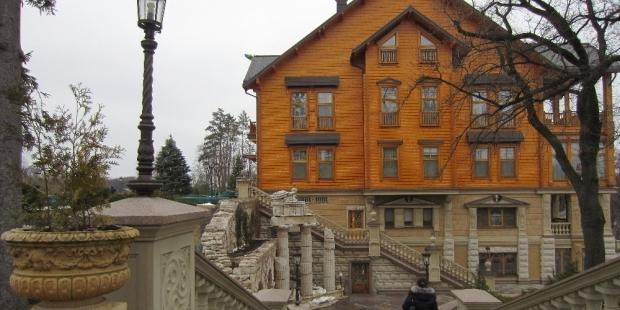 В дом, где жил Янукович, пустят за 200 гривен с человека / УНИАН