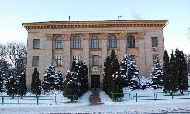 На фото - Києво-Святошинська районна державна адміністрація / wikimapia.org