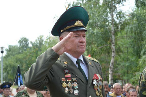 Нуруллин в бытность русским офицером