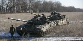 ОБСЕ зафиксировала отвод первых колонн тяжелого вооружения боевиков