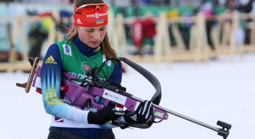 Ukraїnka Žuravok vyhrala sriblo čempionatu Jevropy z biatlonu