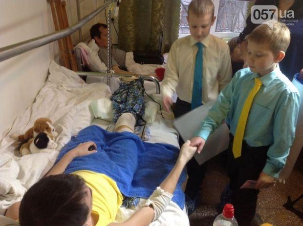 Харківський школяр відмовився святкувати день народження, щоб допомогти пораненому бійцю АТО (фото, відео)