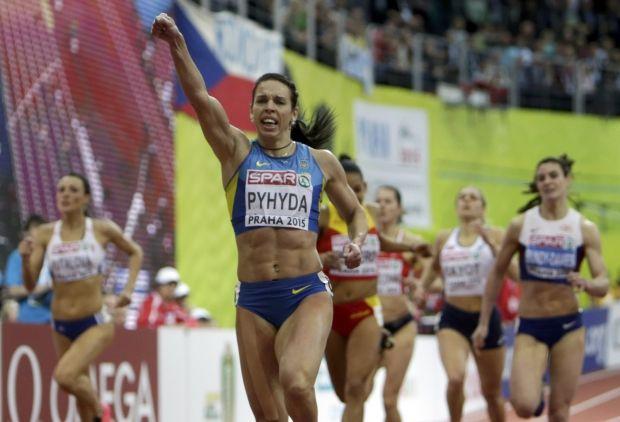 Пигида принесла первое золото сборной Украины / Reuters