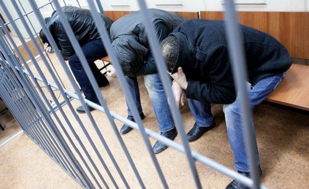 All suspects in the Nemtsov murder case be held in custody \ Photo from Philip Kireev ph.livejournal.com