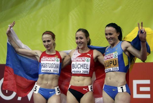 Наталья Лупу попала в призеры забега на 800 метров / Reuters