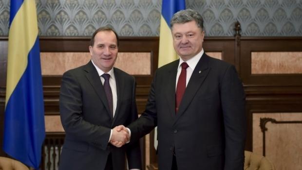 Премьер Швеции встретился с Президентом Украины / Фото УНИАН