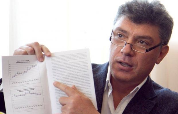 Nemtsov's report on war in Ukraine may be published in a month / Photo from facebook.com/yashin.ilya