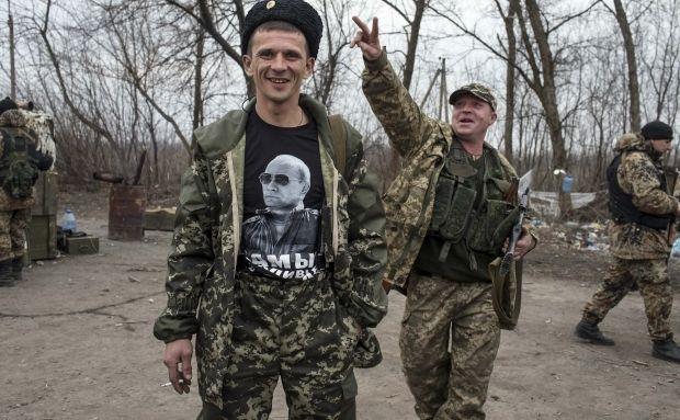 """Боевики разместили запрещенные танки, САУ и """"Грады"""" в районах Донецка и Макеевки, - разведка - Цензор.НЕТ 2024"""