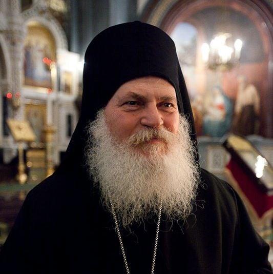 Игумен Афонского Ватопедского монастыря архимандрит Ефрем