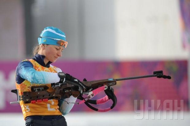 Ukrainian female biathlete wins gold medal at World Championships / Photo from UNIAN