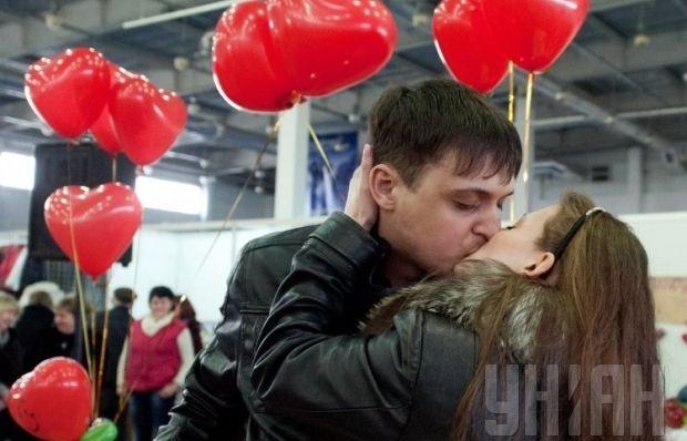 любовь поцелуй / Фото: УНИАН