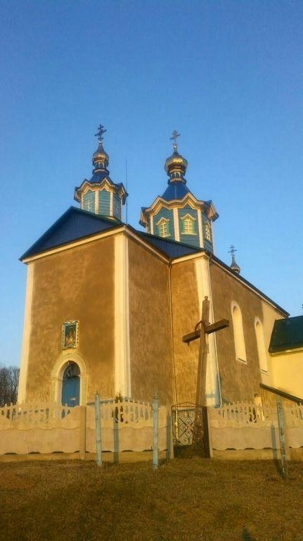 в селе Мильча Дубенского района, 18 марта был захвачен храм Рождества Пресвятой Богородицы