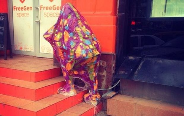 Незабаром у Києві з'явиться ще кілька подібних скульптур / vk.com/geekfriday