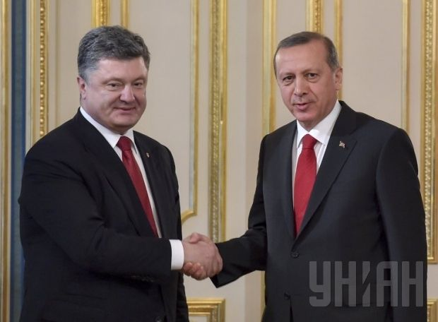 Poroshenko is meeting Erdogan / Photo from UNIAN