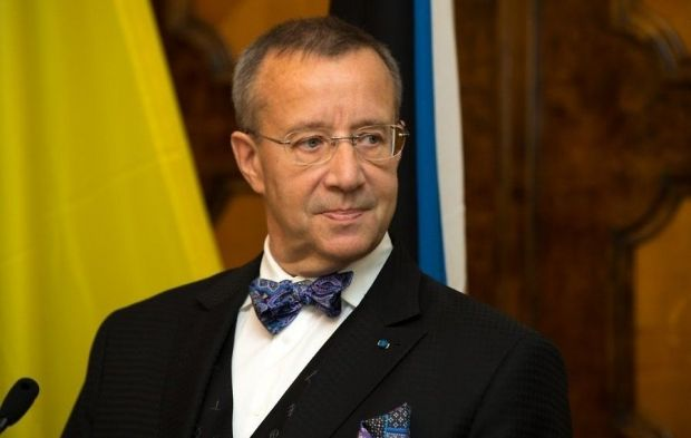 The Estonian president recommends Europe to develop Plan B / Photo from delfi.ee / Andres Putting