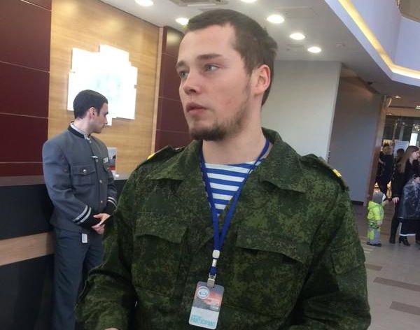 Нацист из ЛНР Алексей Мильчаков на форуме / @scumsquad