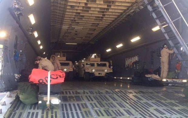 Украина получила первую партию американских броневиков Humvee (фото)