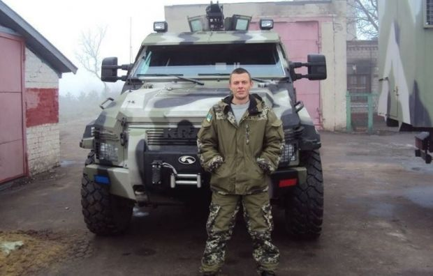 "Максим Овчарук (""Тарпан"") / Фото: vgolos.com.ua"