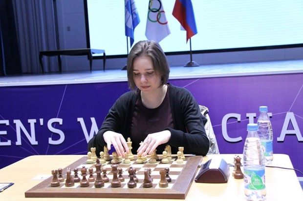 Мария Музычук впервые в карьере стала чемпионкой мира / sochi2014.fide.com