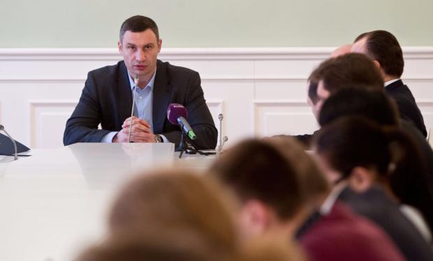 Кличко підкреслив, що боротися з корупцією потрібно публічно / kiev.klichko.org
