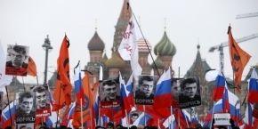 Марш памяти Бориса Немцова в Москве собрал более 50 тысяч участников (фото, видео)