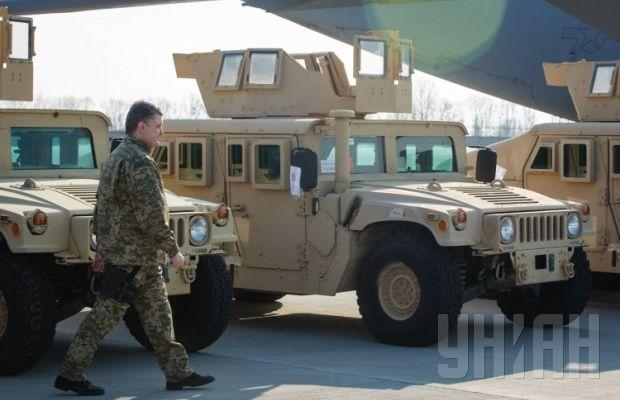 В украину прибыли американские