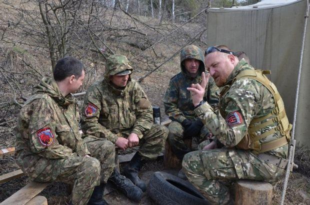 """Десантники попытались разоружить подразделение """"Правого сектора"""", - Ярош - Цензор.НЕТ 6542"""