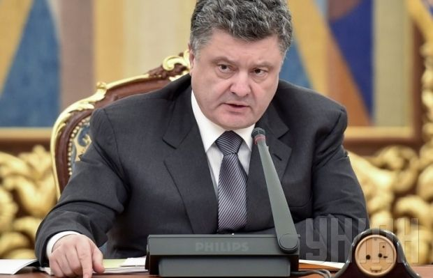 Poroshenko insists on foreign mercenaries' withdrawal from Ukraine / Photo from UNIAN