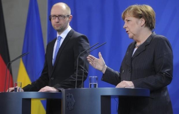 Яценюк и Меркель провели пресс-конференцию / Фото УНИАН