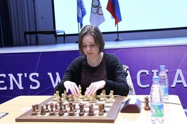 Ukrainian IM Muzychuk beats Russian WGM Pogonina to win 2015 Women's World Championship / Photo from sochi2014.fide.com
