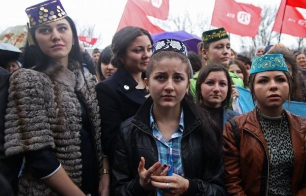 Окупаційна влада півострова пригноблює кримських татар / Фото УНІАН