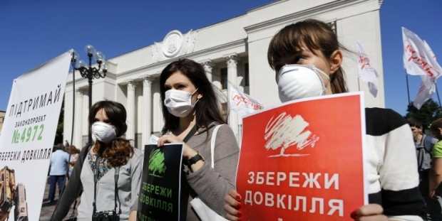 Ukrainians are increasingly interested in the issues of energy efficiency and environment / Photo from UNIAN