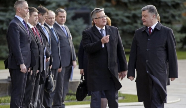 Komorowski says Poland strongly supports Ukraine in European aspirations / Photo from UNIAN