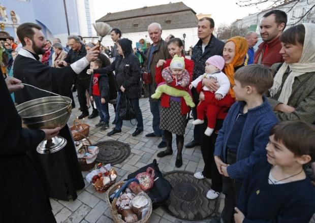 В Киеве опубликована программа пасхальных мероприятий