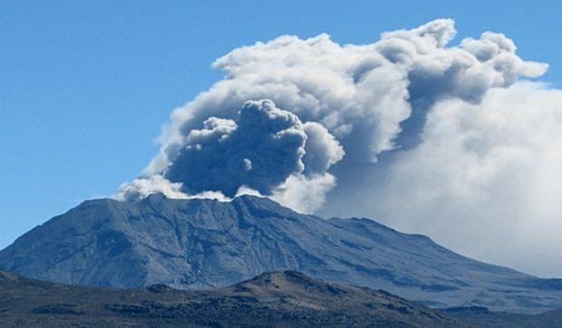 Ілюстративна фотографія: вулкан Убінас / tvperu.gob.pe