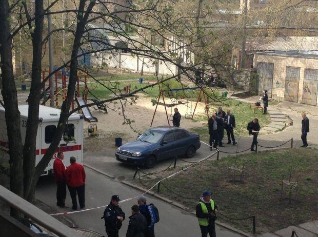 Двір, де вбили Бузину / https://www.facebook.com/byblidze