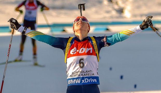 В финском Контиолахти Валя Семеренко впервіе стала чемпионкой мира  / biathlon.com.ua