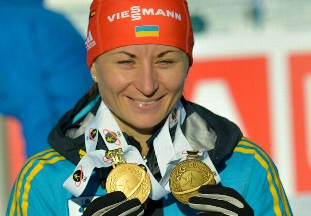 Семеренко сумела войти в тройку сильнейших спортсменок по итогам сезона / biathlon.com.ua