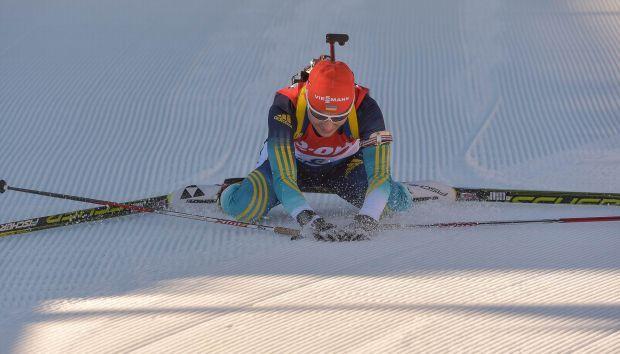 Как лидер команды, она участвовала во всех стартах чемпионата мира / biathlon.com.ua