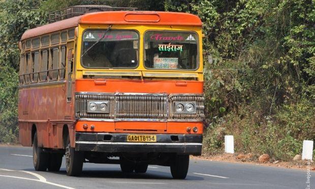 Это первая женщина-водитель в истории муниципального  транспорта Дели  \ t66x.livejournal.com