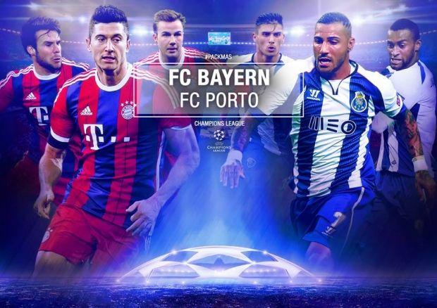 Футбол онлайн трансляция бавария порту