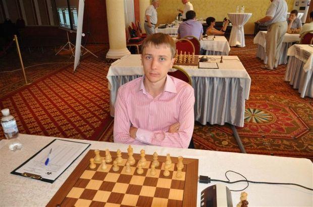 Юрий Криворучко принес вторую победу подряд сборной Украины / ukrchess.com