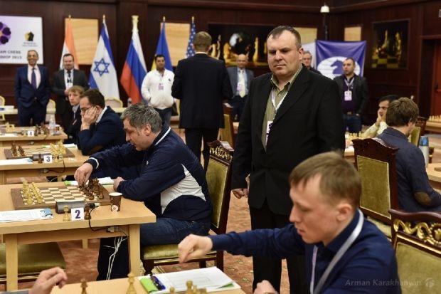 Мужчская сборная Украины завоевала серебро ЧМ / tsaghkadzor2015.fide.com