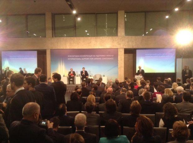 В Киеве началась донорская конференция