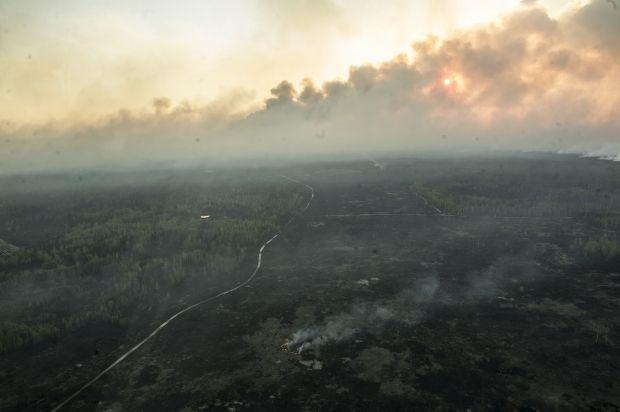 Радиационный фон в районе пожара находится в пределах нормы / kmu.gov.ua, mvs.gov.ua