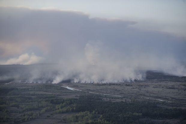 У зоні відчуження лишилися окремі осередки загорянь / mvs.gov.ua
