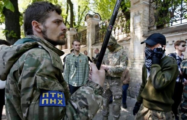 """Резниченко заявил, что никакого конфликта между ВСУ и """"Правым сектором"""" нет / Фото УНИАН"""