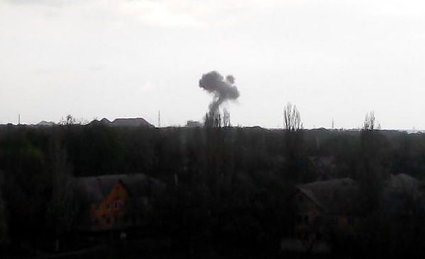 Donbas militants attacked Ukrainian troops 25 times on Thursday / Photo from 62.ua