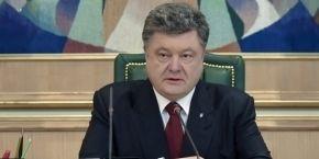 Poroshenko: Ukraine may raise $2 bln in donor funds to rebuild Donbas
